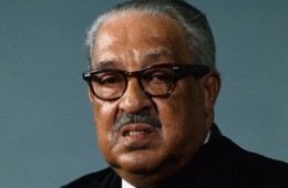 Associate Justice Thurgood Marshall Posing