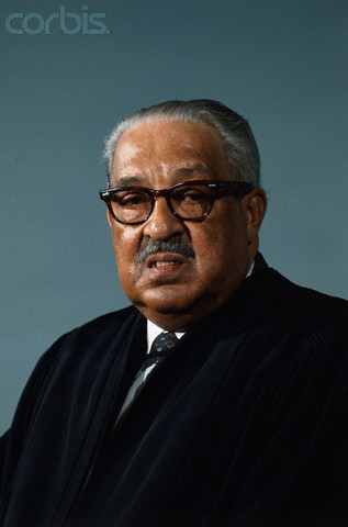 05 Feb 1976 --- Original caption: Washington, D. C.: Associate Justice Thurgood Marshall of the Supreme Court of the United States is pictured February 5th.