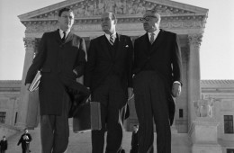 Civil Rights Attorneys Outside Supreme Court