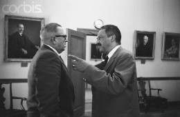 Doctor Virgil Blossom And Clayton Powell