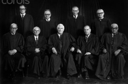 Justices of the Burger Court