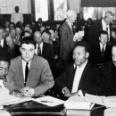 NAACP Attorney Thurgood Marshall in Court