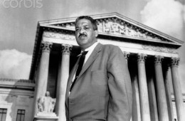 NAACP Chief Counsel Thurgood Marshall
