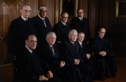 Portrait of Supreme Court Judges