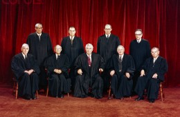 Portrait of Supreme Court Justices