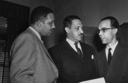 Thurgood Marshal and Leading Civil Rights Lawyers