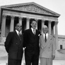 Thurgood Marshall After Winning Brown v. Board of Education