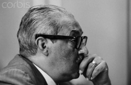 Thurgood Marshall During Supreme Court Nomination Hearings