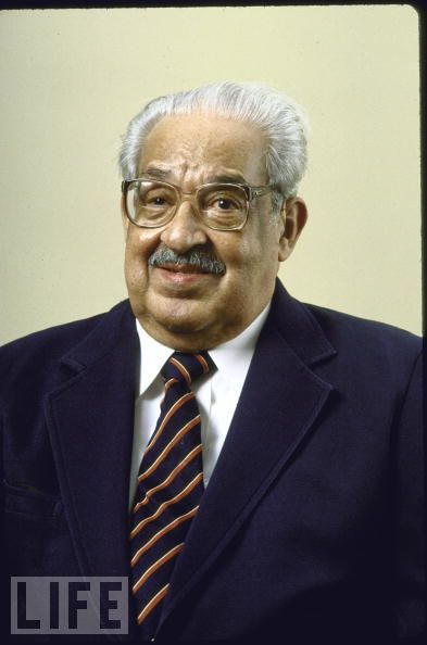 The civil rights revolution Thurgood Marshall portrait