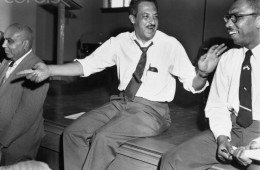 Thurgood Marshall Seated And Talking