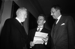 Thurgood Marshall Standing W/2 Attorneys
