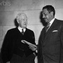 Thurgood Marshall and John Davis
