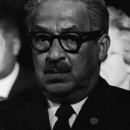Thurgood Marshall at King's Funeral