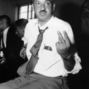 Thurgood Marshall at NAACP Meeting