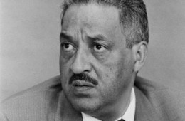 Thurgood Marshall in 1959