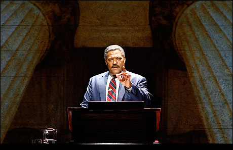Thurgood Marshall Stage Play Playbill